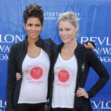 Halle Berry Pregnant at Revlon Run-Walk | Photos