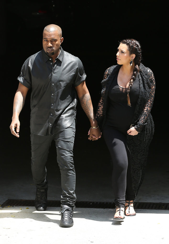 Kanye West Hits His Head and House Hunts With Kim Kardashian