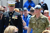 On Saturday, Prince Harry donned his uniform to open the Warrior Games in Colorado Springs, CO.