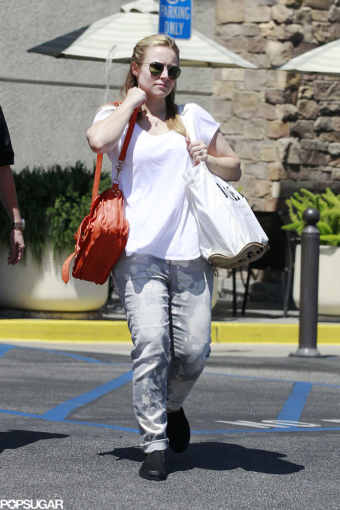 Kristen Bell was spotted out in LA.