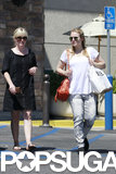 Kristen Bell was joined by a friend for an LA outing.