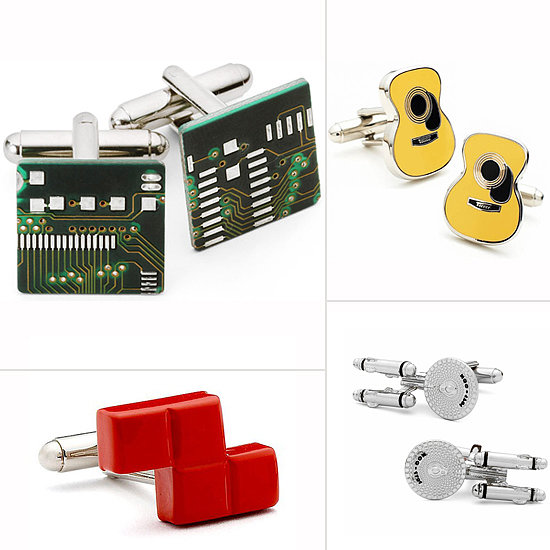 13 Clever Cuff Links For Geeky Grooms