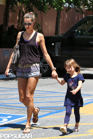 Alessandra Ambrosio Might Have a Minimodel on Her Hands