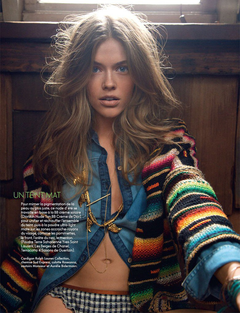 Aussie Beauty Victoria Lee Livin' Large for Elle France