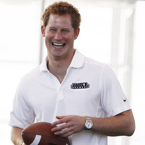 Prince Harry Playing Football in the USA | Photos