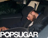 Robert Pattinson left the Chateau Marmont with a friend.
