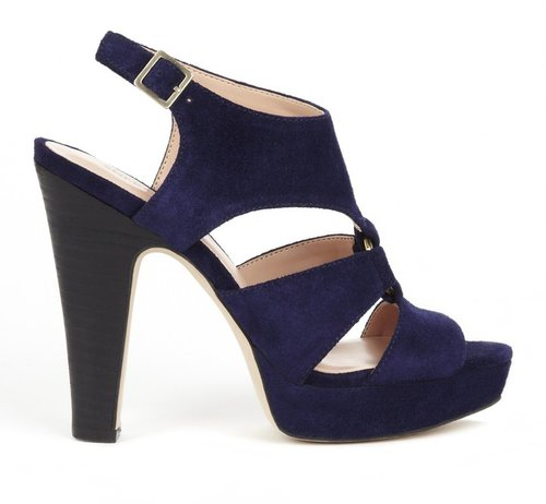 Evelyn peep toe heel
