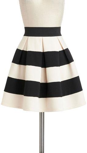 Stripe It Lucky Skirt