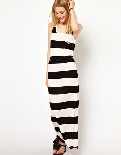 Vila Stripe Maxi Dress