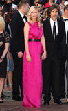 Kirsten Dunst went for a hot-pink look in 2012 at the Cannes Film Festival.
