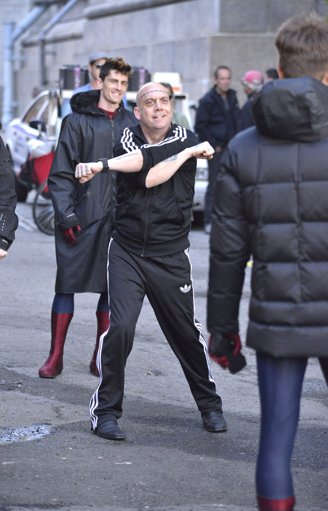 Andrew Garfield and Paul Giamatti shot scenes for The Amazing Spider-Man 2.