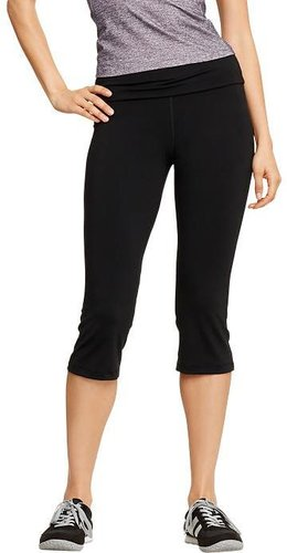 "Women's Compression Fold-Over Capris (21"")"
