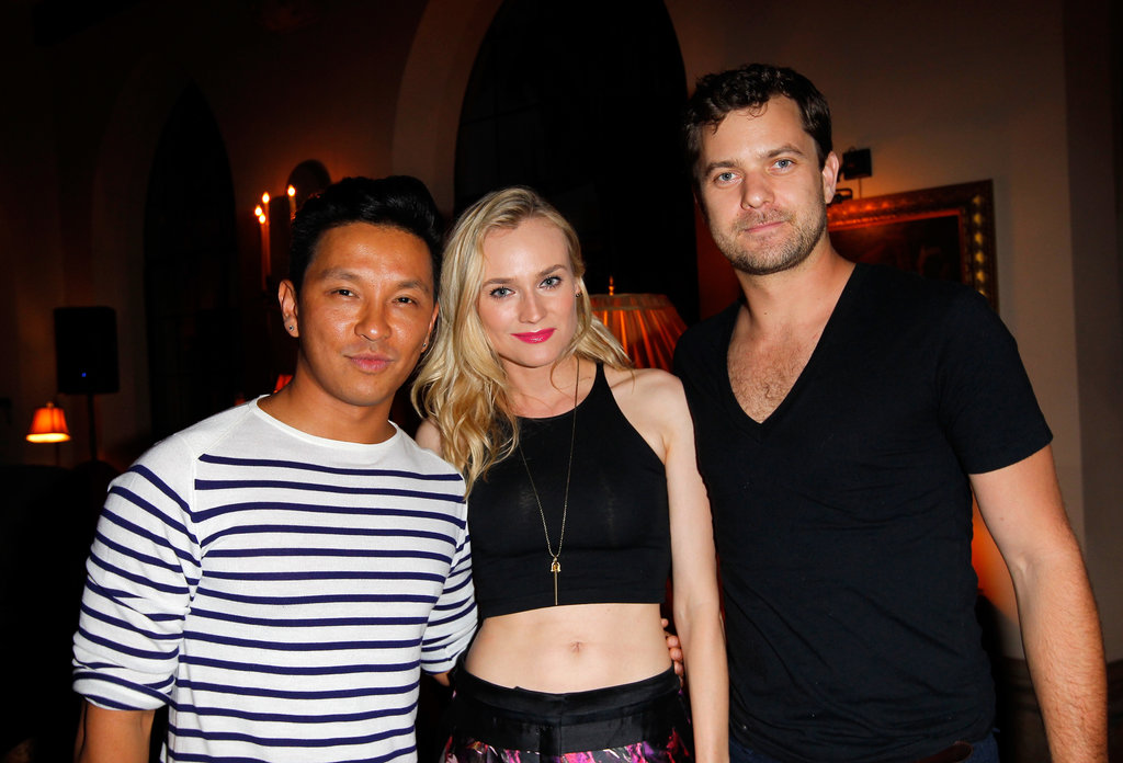 Prabal Gurung, Diane Kruger, and Joshua Jackson attended the dinner.