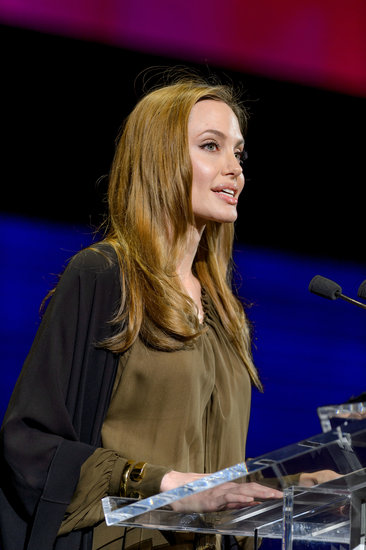 In April, Angelina Jolie attended the Women in the World Summit in NYC to once again show her support for Malala Yousafzai. In addition, she donated $200,000 to the Malala Fund, a charity that was set up by Vital Voices to encourage girls' education.