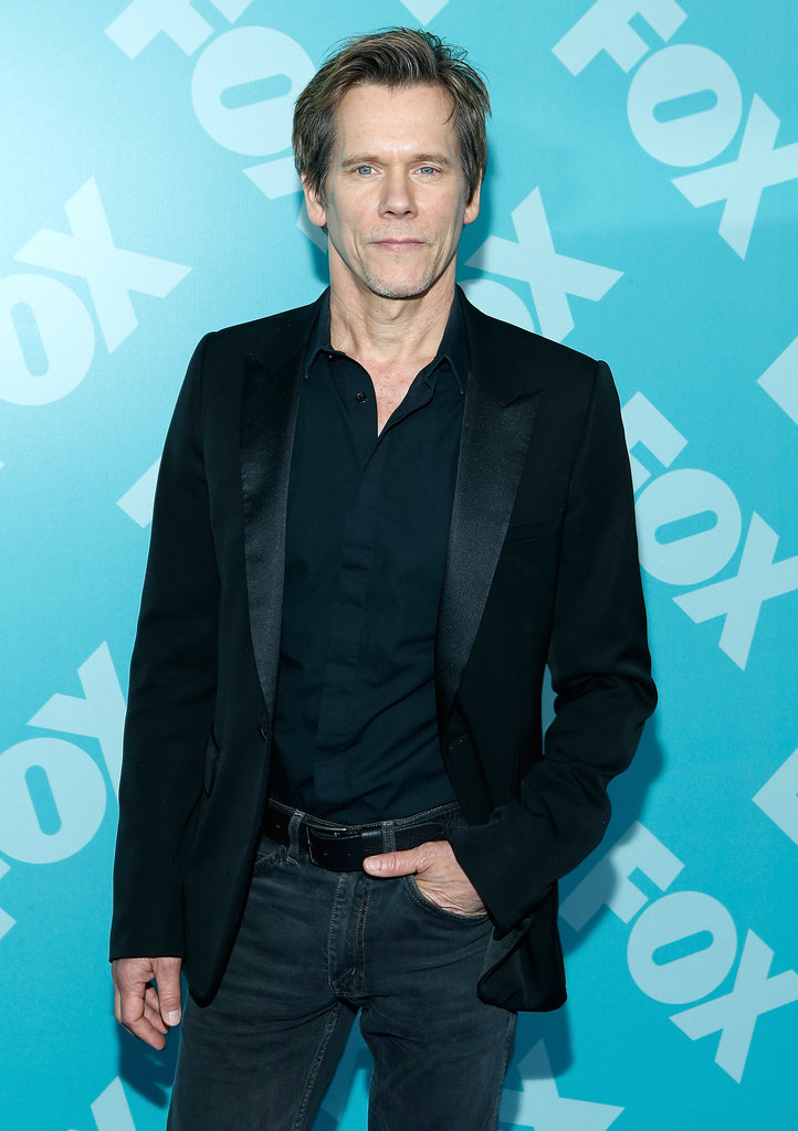 Kevin Bacon partied with his network costars.