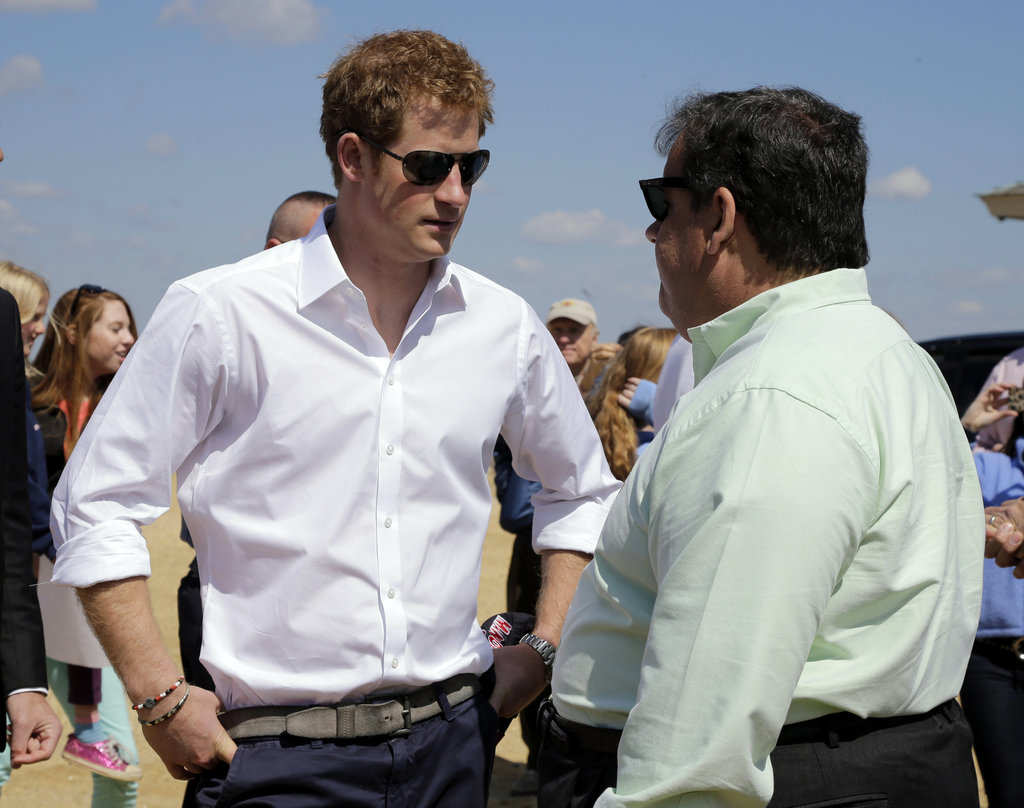 Prince Harry Gets His Game On