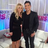 Mario Lopez caught up with the princess of pop herself, Britney Spears. Source: Instagram user britneyspears