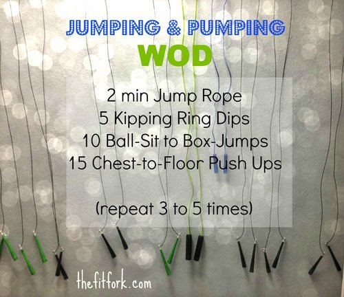 Jumping & Pumping Workout