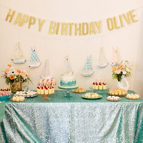 Under the Sea First Birthday Party