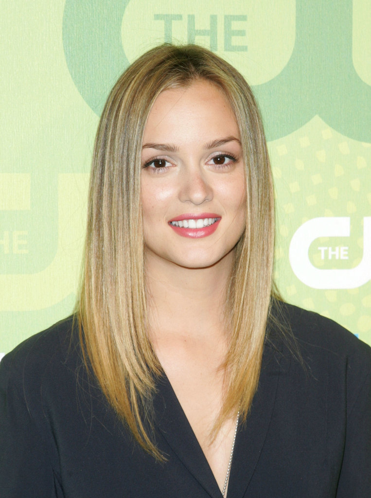 Leighton Meester went in the opposite direction of her character Blair on Gossip Girl and dyed her hair a beachy blond back in 2009.
