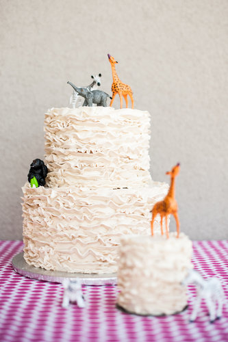 A Shabby-Chic Safari Cake