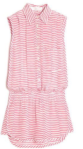Thakoon Addition Sleeveless Stripe Romper