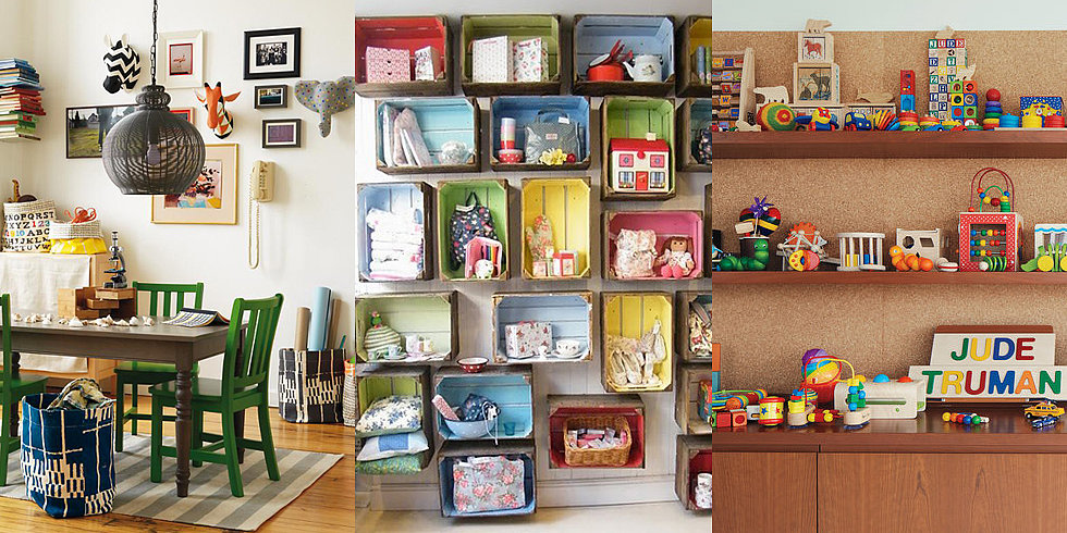 Toy storage ideas from real kid 39 s rooms Large toy storage ideas