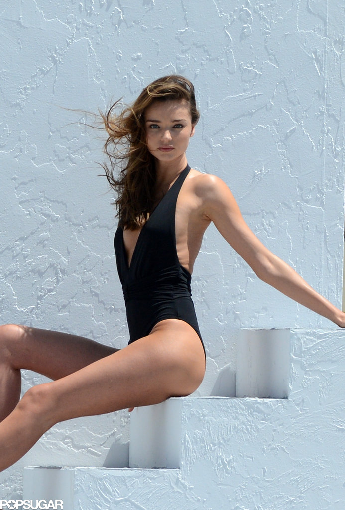 Miranda Kerr Strips Down For a Sexy Bikini Shoot