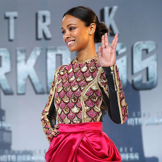 Beauty Spotlight: Zoe Saldana's Best Looks Over The Years