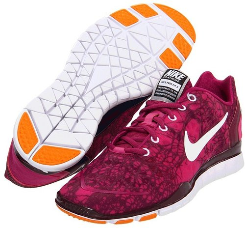 Nike - Free TR Fit 2 Print (Rave Pink/Bordeaux/White) - Footwear