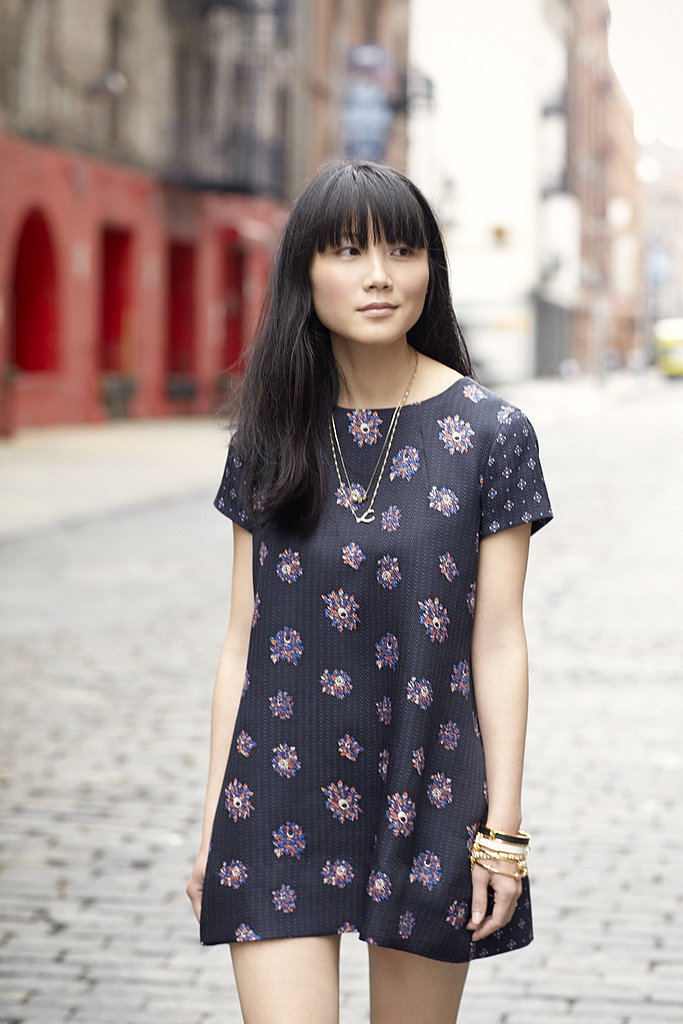 Grab a minidress in navy for a fresh alternative to the white styles you've been living in.