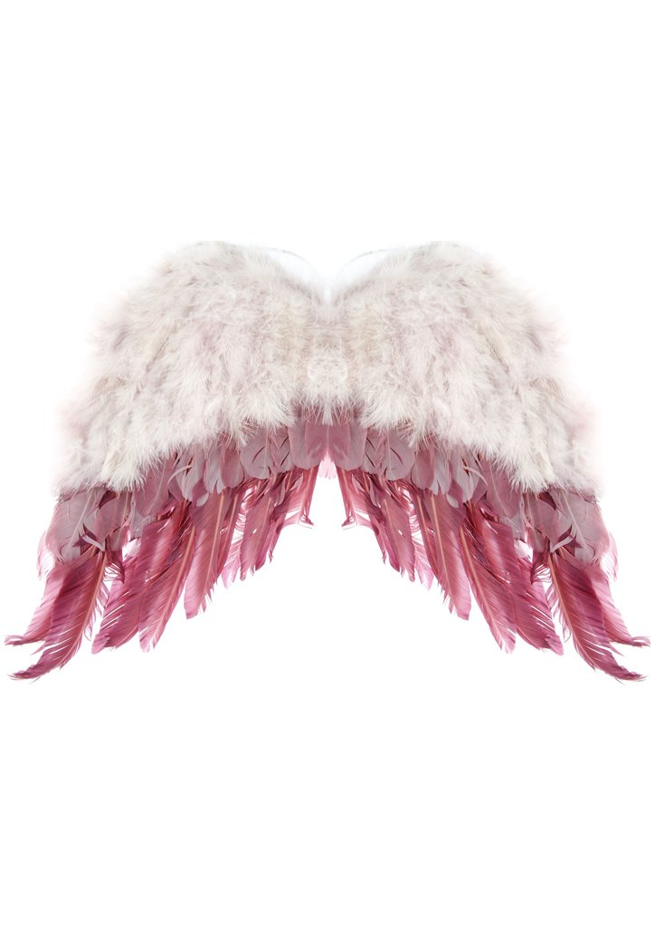 Pink-dipped feather angel wings are a surefire way to add a bohemian element to your outfit. And thanks to the Topshop Festival Collection for Summer 2013, inspired by Kate Bosworth, it just became that much easier.