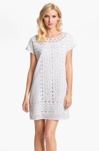 MICHAEL Michael Kors Eyelet Shift Dress