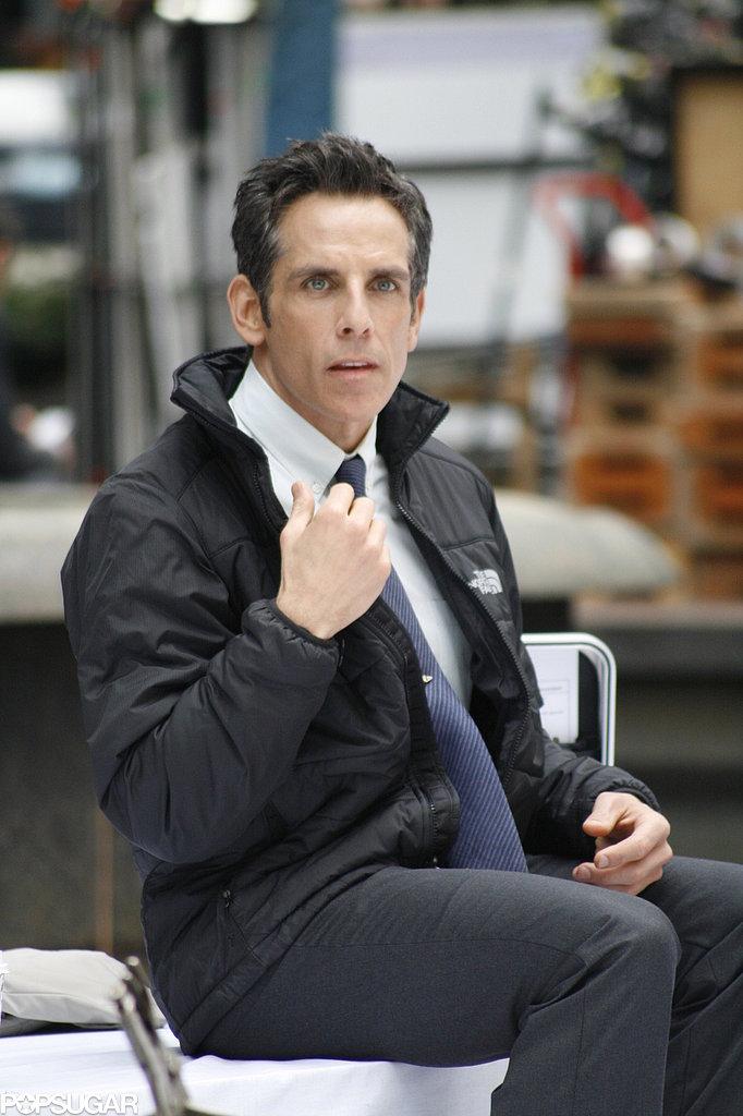 A Special Love Interest Sneaks Onto Ben Stiller's Set
