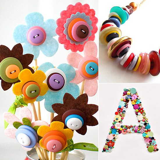 Button Craft Ideas | LilSugar