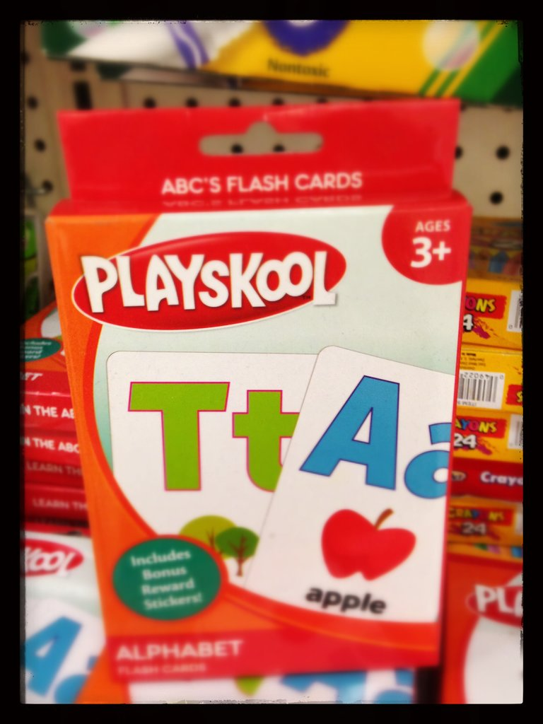 Playskool Alphabet Flash Cards