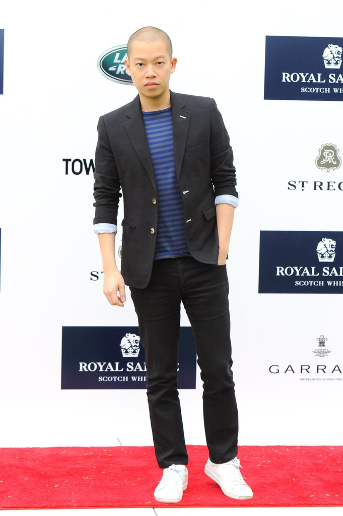 Jason Wu at Prince Harry's Sentebale Royal Salute Polo Cup in Greenwich, CT. Source: Joe Schildhorn/BFAnyc.com