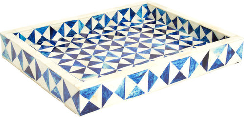 """Bojay 16"""" Oblong Triangle Tray"""