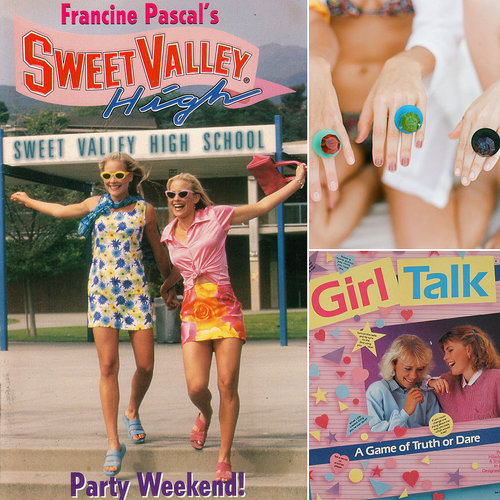 POPSUGAR Sex & Culture has come up with creative ideas for throwing the most bomb.com bachelorette party or bridal shower they could dream up, complete with the girlie trinkets, rad fashion, and phat pop culture icons of the 1990s.