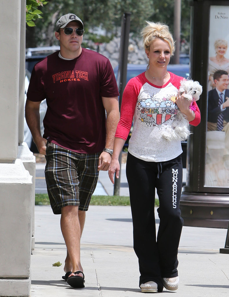 Britney Spears and David Lucado went out together on Thursday.