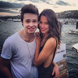 Reece Mastin and Rhiannon Fish attended Joel Madden's housewarming party event. Source: Instagram user rhiannonmfish
