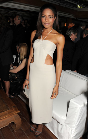 Naomie Harris looked stunning in a cutout dress.