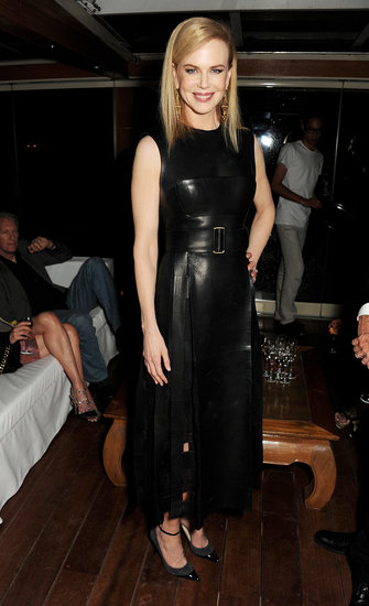 Nicole Kidman attended the Calvin Klein bash.