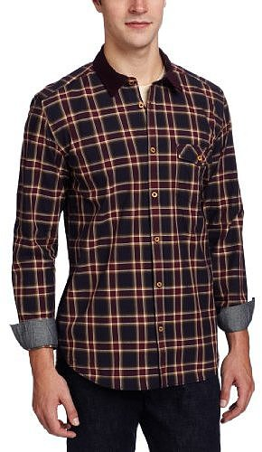 Ted Baker Men's Filetta Twill Check