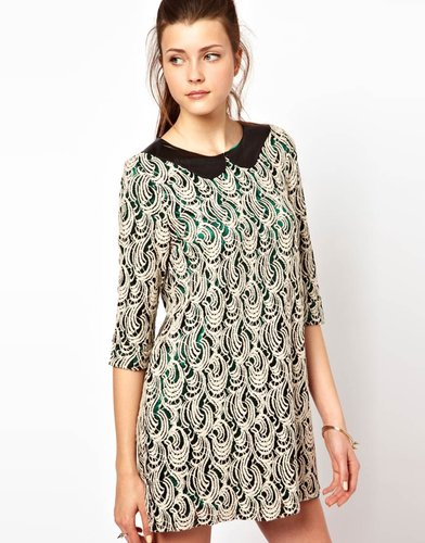 Vero Moda Lace Tunic Dress