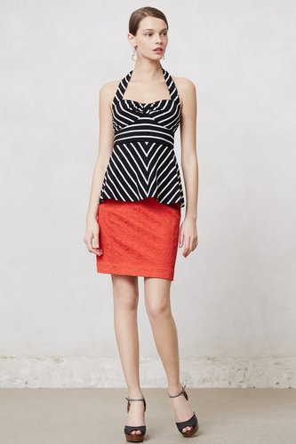 Striped Devon Halter Top