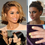 Your Top 10 Pins: An Easy Topknot Tutorial and Celebrity Manicures