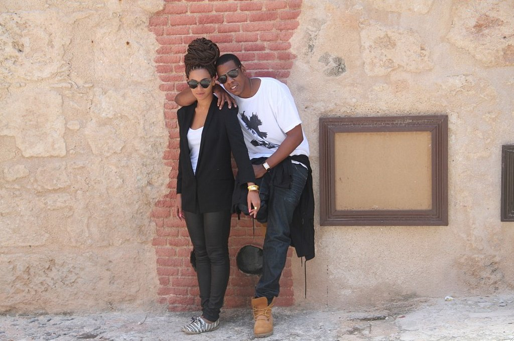 Jay Z and Beyoncé cozied up during their May 2013 trip to Havana, Cuba. Source: Tumblr user Beyoncé