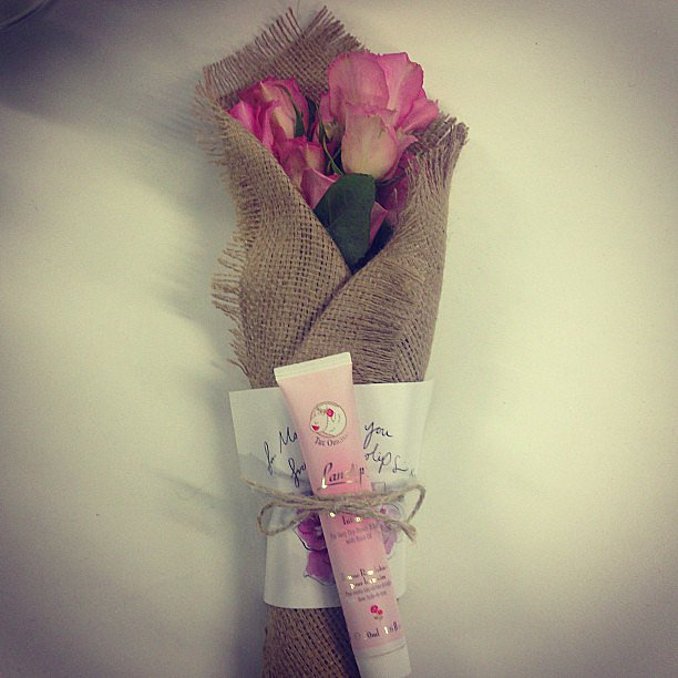 The perfect little package from the lovely people at Lanolips.