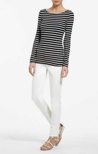 Leah Striped Tee